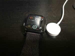 Apple Watchの充電時間は?0%から100%までの時間を計測!