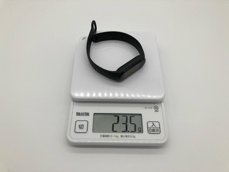 Mi Band 5重量