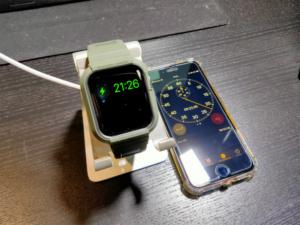 Apple Watch6の充電時間は?0%から100%までの時間を計測!