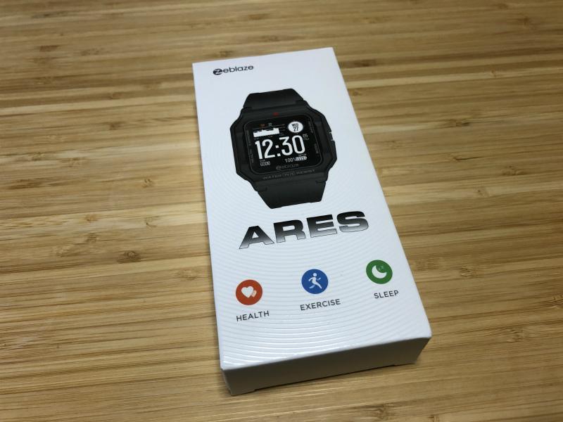 Zeblaze Aresの箱