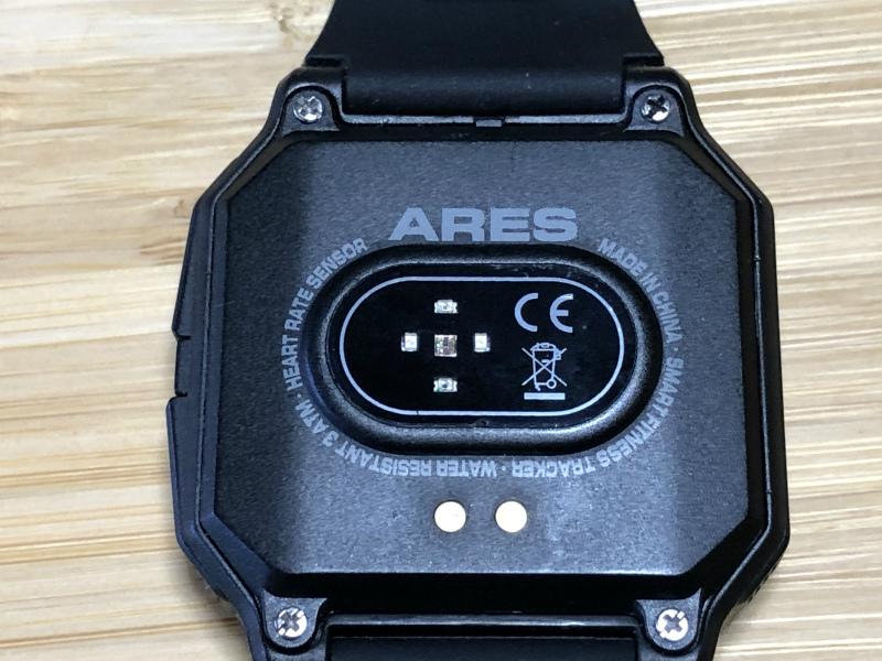 Zeblaze Aresの心拍数センサー